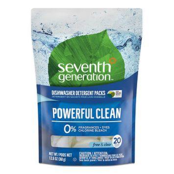 Seventh Generation Dishwasher Packs