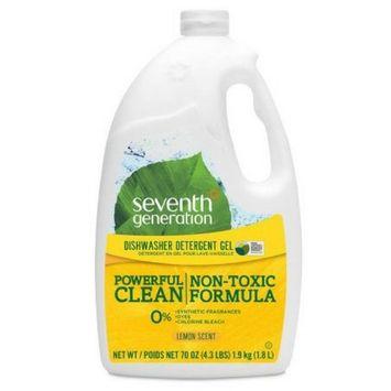 Seventh Generation Powerful Clean Dishwashing Detergent Gel