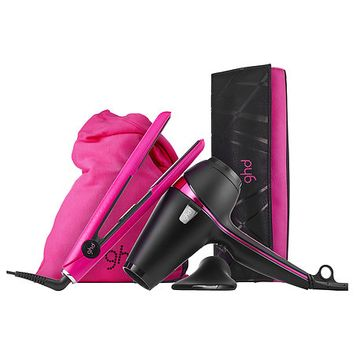 ghd Electric Pink Deluxe Set