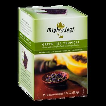 Mighty Leaf Tea Green Tea Tropical - 15 CT