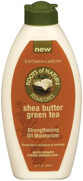 Roots of Nature Green Tea Strengthening Oil Moisturizer For Hair Shea Butter
