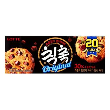 LOTTE CHIC CHOC Chocolate Chips Cookie 90g