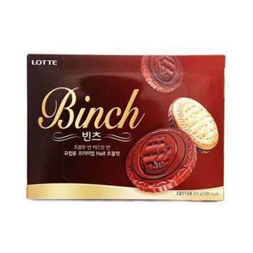 LOTTE BINCH Biscuit Dark Chocolate 204g