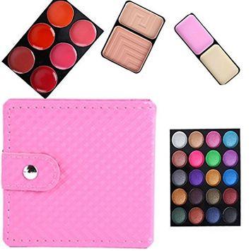 RNTOP 32 Color Cosmetic Matte Eyeshadow Cream Eye Shadow Makeup Palette Shimmer Set