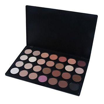 Pro 28 Color Neutral Warm Eyeshadow Palette Matte Nudes Eye Shadow Makeup Cosmetics