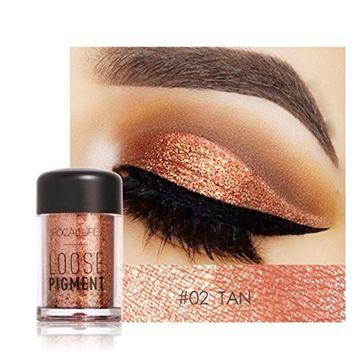 RNTOP 12 Colors Eye Shadow Makeup Pearl Metallic Eyeshadow Palette