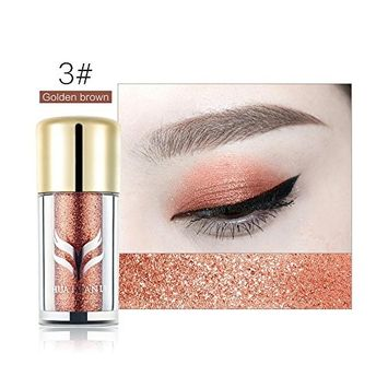 RNTOP Professional Single Waterproof Makeup Glitter Long Lasting Eyeshadow Palette