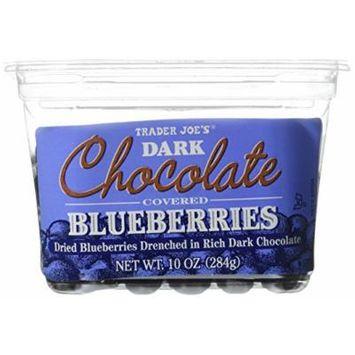 Trader Joe's Dark Chocolate Covered Blueberries - 2 PACK