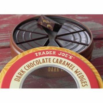 Trader Joe's Dark Chocolate Caramel Wedges (3.5 Oz)