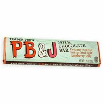 Trader Joes Milk Chocolate Pb & J Peanut Butter & Jelly