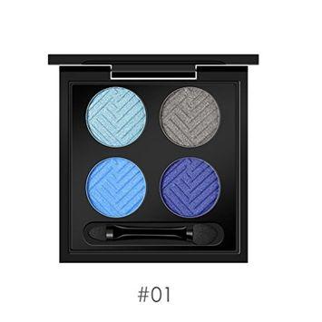 4 Colors Shimmer Eye Shadow Palette Makeup Cosmetic Eyeshadow Makeup