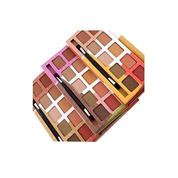 RNTOP 10 Colors Eyeshadow Palette Makeup Set Cosmetics Earth Color Eyeshadow Palette