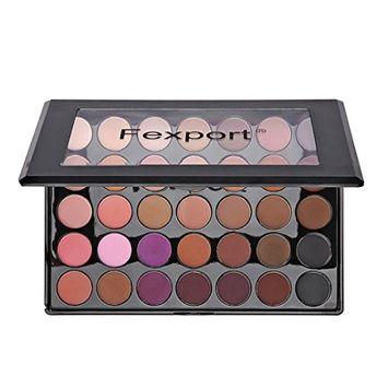 RNTOP 35 Colors Matte Shimmer Earth Warm Color Eyeshadow Palette Makeup Eye Shadow