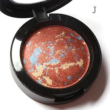 RNTOP Focallure 10 Colors Noble Metal Diamond Pearl Eye Shadow Makeup Palette Roast