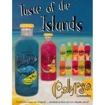 Calypso Lemonade Ocean Blue 12 20Oz. Bottles