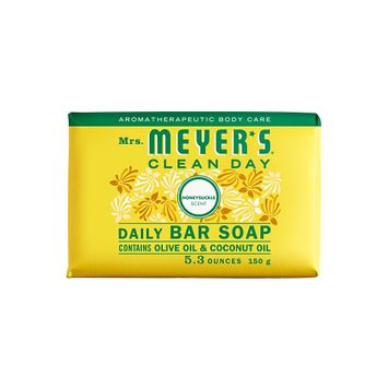 Mrs. Meyer's Clean Day Honeysuckle Daily Bar Soap