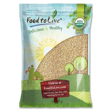 Organic Steel Cut Oats, 6 Pounds - Non-GMO, Kosher, Non-Irradiated, Vegan, Bulk, Pesticide-Free Pinheads, 100% Whole Grain Irish Oats, Quick Cooking Oatmeal, Product of the USA - by Food to Live
