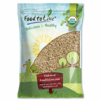 Organic Rolled Oats by Food to Live (Old-Fashioned, 100% Whole Grain, Non-GMO, Bulk, Product of the USA) — 20 Pounds