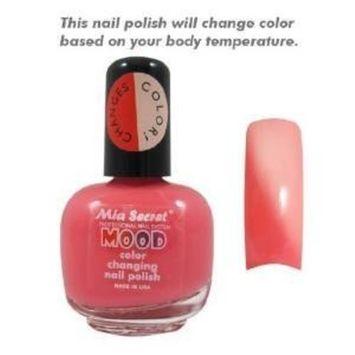 Mia Secret Mood Color Changing Nail Polish with Absolute Nail Polish Remover