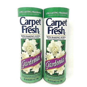 Carpet Fresh With Baking Soda Gardenia 14 oz Pack of 2