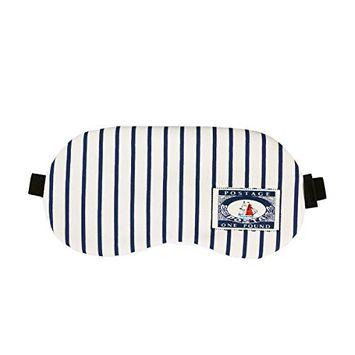 ROSENICE Sleeping Mask Adjustable Strap Eyeshade with Cold/Hot Gel Blindfold for Stress Relief (Stripes)