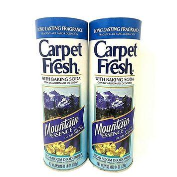Carpet Fresh With Baking Soda Mountain Essence 14 oz Pack of 2
