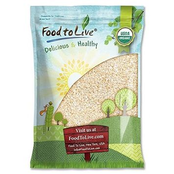 Organic Oat Bran by Food to Live (Non-GMO, Raw, High Fiber Hot Cereal, Milled from High Protein Oats, Vegan, Bulk, Product of the USA) — 12 Pounds