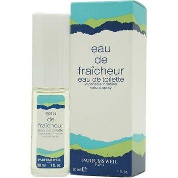 Eau De Fraicheur by Weil Paris For Women. Eau De Toilette Spray 1-Ounce