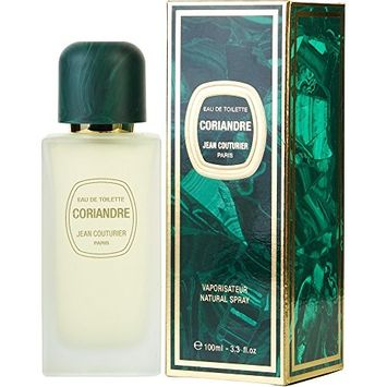 CORIANDRE by Jean Couturier EDT SPRAY 3.3 OZ for WOMEN ---(Package Of 4)