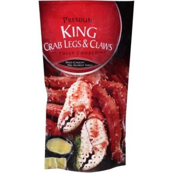 Premium Frozen Crab Legs and Claws 16 oz