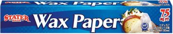 Stater Bros.  Wax Paper 75 Sf Box