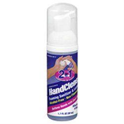 HandClens 2-In-1 Foaming Sanitizer & Lotion - 1.7 fl oz