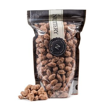 The Nuttery Cinnamon Peanuts 16 ounce Pouch Bag 1lb