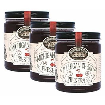 Michigan Cherry Preserves - 3 PACK - Shipping Included