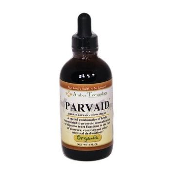 Amber Technology Paxxin All Natural Parvo Aid for Dogs, 4-Ounce