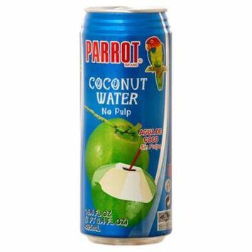 New 349430 Parrot Coconut Water 16.4 Oz No Pulp (24-Pack) Juice Cheap Wholesale Discount Bulk Beverages Juice