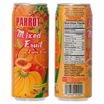 New 323166 Parrot Juice 16.4 Oz Mixed Fruit (24-Pack) Juice Cheap Wholesale Discount Bulk Beverages Juice Parrot