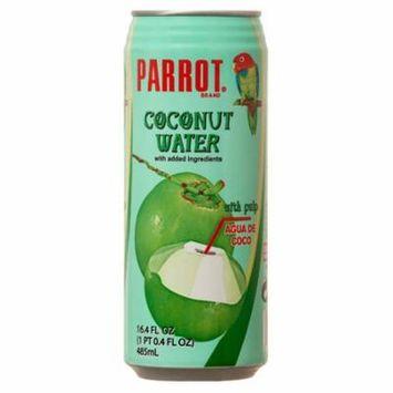 New 301774 Parrot Coconut Water 16.4 Oz (24-Pack) Juice Cheap Wholesale Discount Bulk Beverages Juice