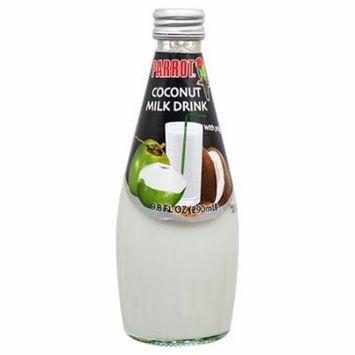 New 368626 Parrot Coconut Milk 9.8Oz (24-Pack) Juice Cheap Wholesale Discount Bulk Beverages Juice