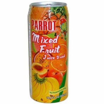 New 803070 Parrot Mixed Fruit Juice Drink 16.4Oz (24-Pack) Juice Cheap Wholesale Discount Bulk Beverages Juice