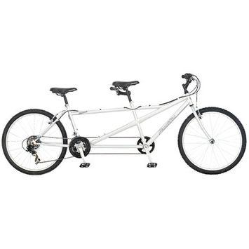 InSTEP 264140P Pacific Cycle 26 in. Dualie Tandem Bike Bicycle
