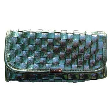 Mally Beauty Cosmetics Bag/Purse (Green)