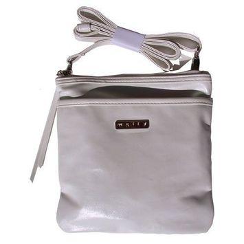 Mally Beauty Cosmetics Bag/Purse (White)