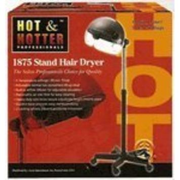 Hot & Hotter Professional Turbo 2000 Ceramic Stand Dryer #5825,Adjustable bonnet, removable air filter, filter, diffuser, salon, air vents, professional salon tool