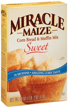 Miracle Maize® Sweet Corn Bread & Muffin Mix
