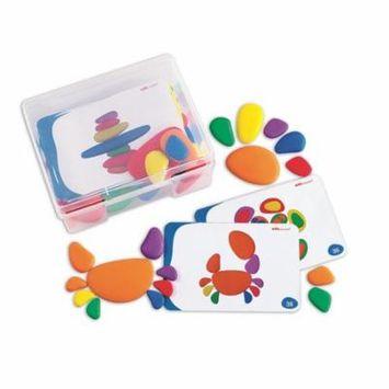 Rainbow Pebbles Sorting Stones