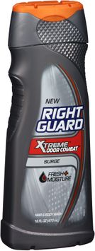 Right Guard® Xtreme™ Odor Combat™ Surge Hair & Body Wash