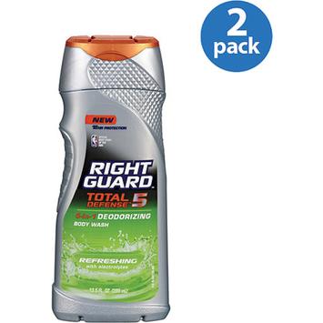 Right Guard Total Defense 5 Total Defense 5 Deodorizing Body Wash Refreshing
