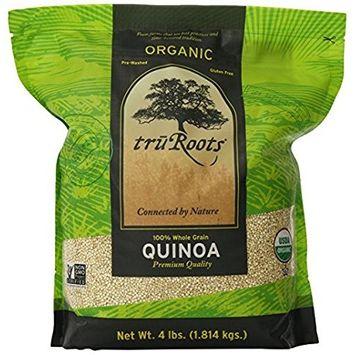 truRoots Organic Quinoa 100% Whole Grain Premium Quality, 2Pack (3 lbs Each)