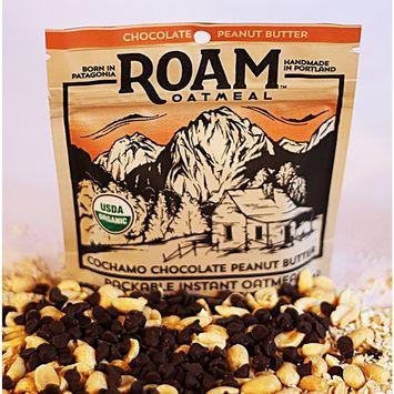 Roam Oatmeal - Chocolate Peanut Butter Packable Instant Oatmeal